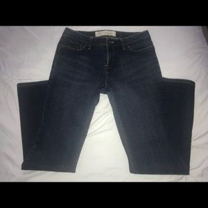 LOFT curvy boot cut jeans